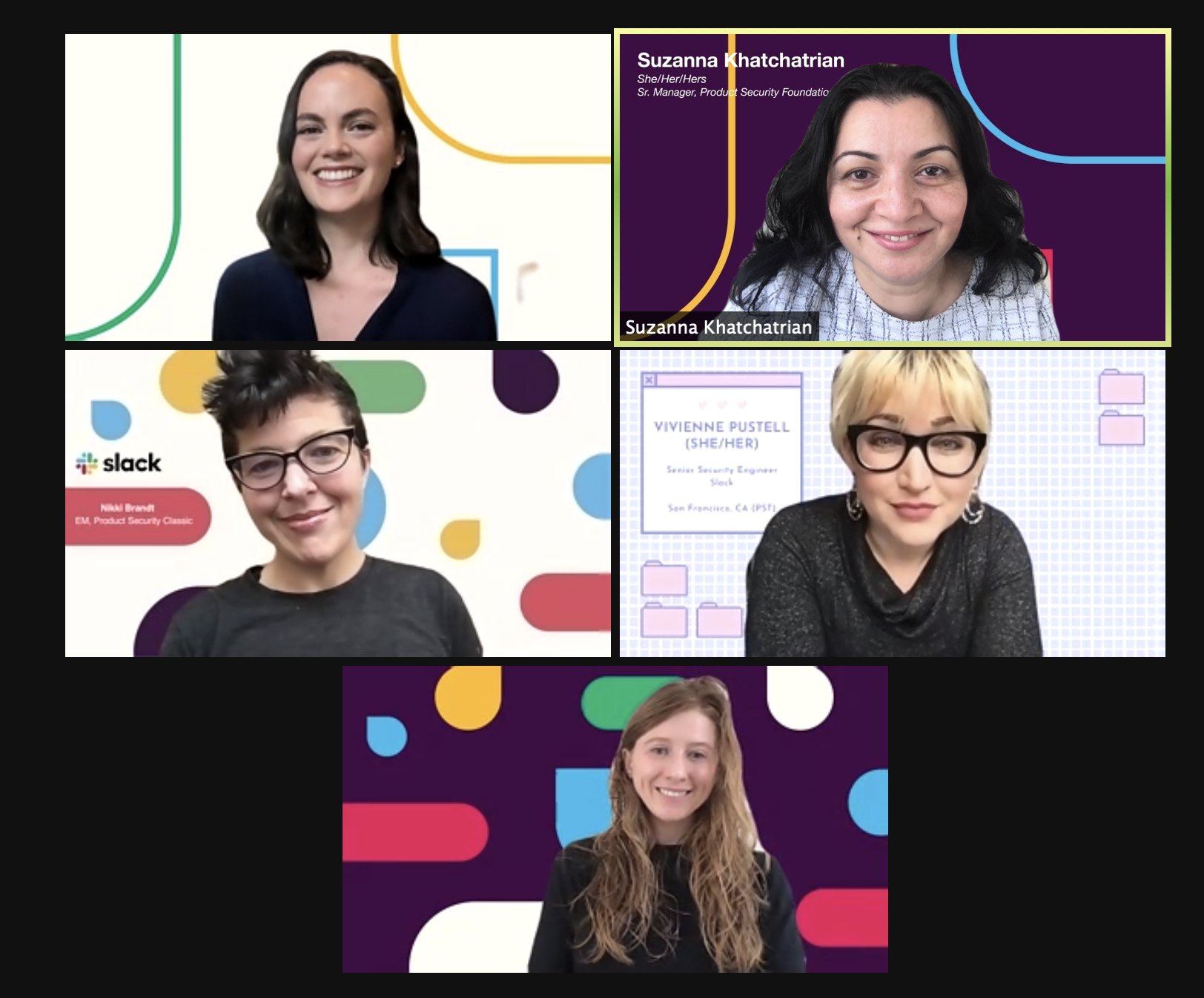 Women in Security at Slack