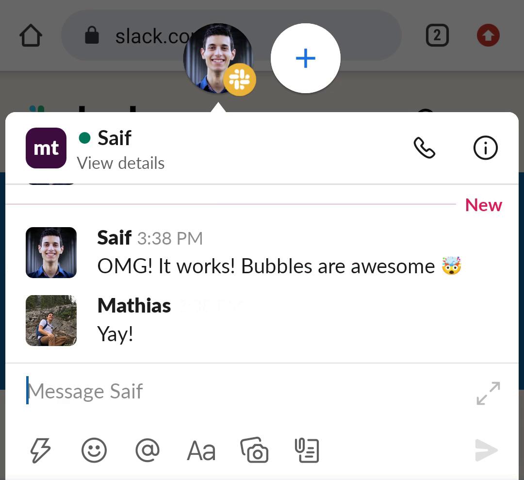 Building Android Conversation Bubbles